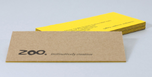 Top sheet: Kaskad Oriole Gold 270gsm Bottom sheet: Buffalo Board 283gsm Stock from KW Doggetts Fine Paper